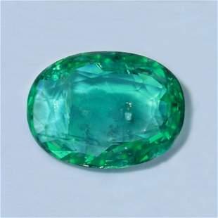 IGI Certified 4.51 ct. Emerald - ZAMBIA