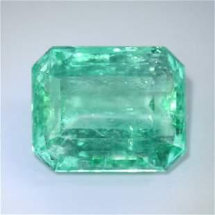 IGI Certified 5.90 ct. Emerald - COLOMBIA