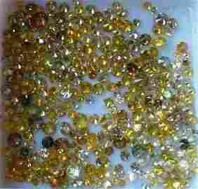 5.40 ct. Fancy Color Diamond Lot - UNTREATED
