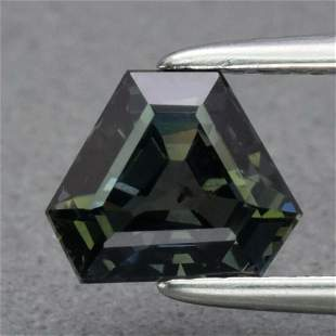 Rare 1.25 ct. Unheated Multi-color Sapphire - TANZANIA