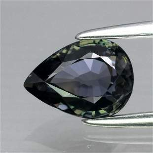 1.10 ct. Unheated Greenish Blue Sapphire - TANZANIA