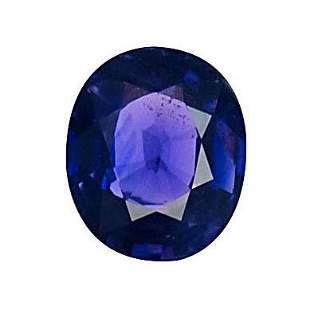 GIA Cert. 1.07 ct. Untreated Blue Sapphire - MADAGASCAR