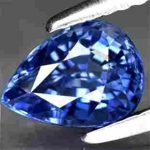 GIA Certified 1.34 ct. Blue Sapphire - MADAGASCAR