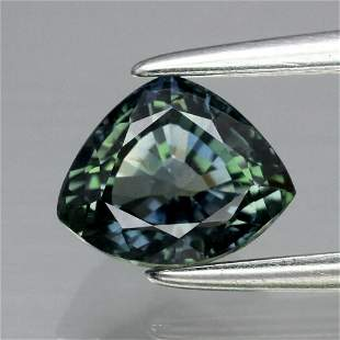 1.22 ct. Unheated Greenish Blue Sapphire - TANZANIA