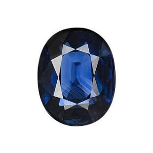 GIA Certified 2.02 ct. Blue Sapphire - SRI LANKA
