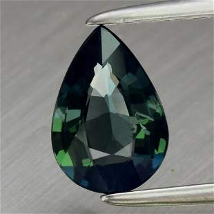 1.06 ct. Unheated Greenish Blue Sapphire - AUSTRALIA