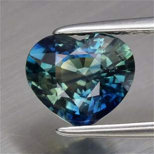 1.80 ct. Unheated Greenish Blue Sapphire - AUSTRALIA