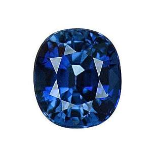 GIA Cert. 1.04 ct. Untreated Royal Blue Sapphire BURMA