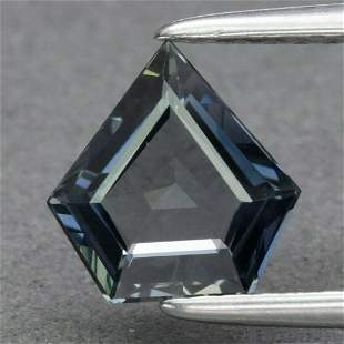 1.12 ct. Unheated Greenish Blue Sapphire - TANZANIA