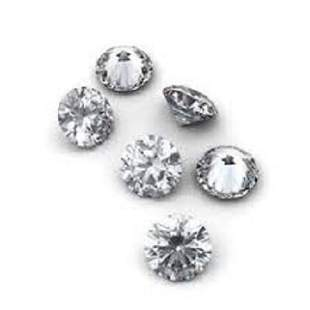Set of 6 - 0.36 ct. Round Brilliant Diamond Lot - G-H/I
