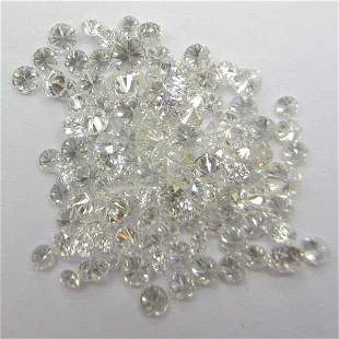 2.40 ct. Round Brilliant Diamond Lot -G-H/I - UNTREATED