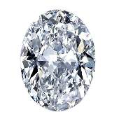 0.19 ct. Oval shape Diamond - G-H / VS-SI - UNTREATED