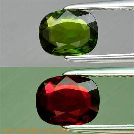 1.09 ct. Unheated Green Chrome Tourmaline - MOZAMBIQUE