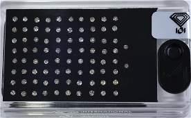 "IGI Certified Sealed 1.76 Ct. Diamond ""D-Box"" UNTREATED"