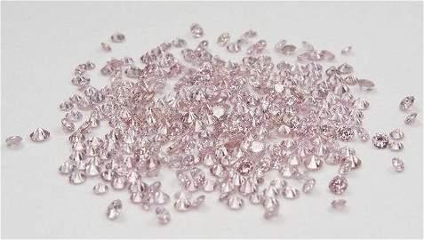 2.00 ct. Light Pink Diamonds Lot - UNTREATED
