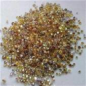 10.22 ct. Fancy Mix Color Diamond Lot - UNTREATED
