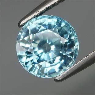 2.78 ct. Natural Blue Zircon - CAMBODIA