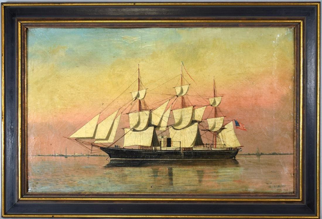 ANTONIO JACOBSEN SHIP PORTRAIT: