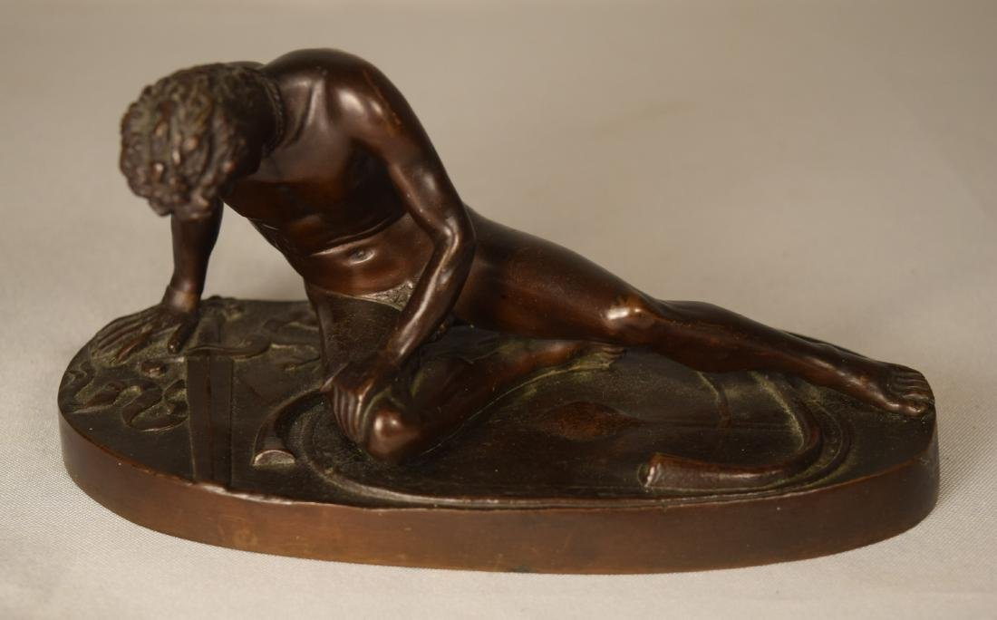 19TH C FRENCH BRONZE BY FERNINAND BARBEDIENNE: