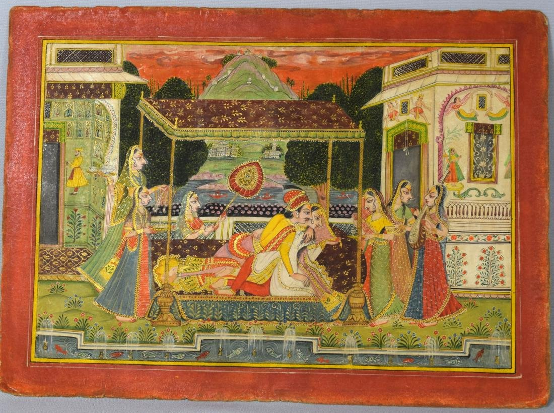 KISHANGARH RAJASTHAN SCHOOL OF INDIAN PAINTING: