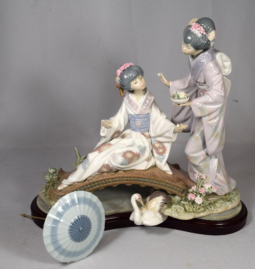 LLADRO PORCELAIN GROUP NO.1.445