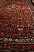 PERSIAN BIDJAR PALACE SIZE ORIENTAL RUG: