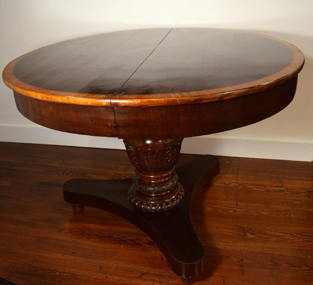 REGENCY STYLE ROUND CENTER TABLE: