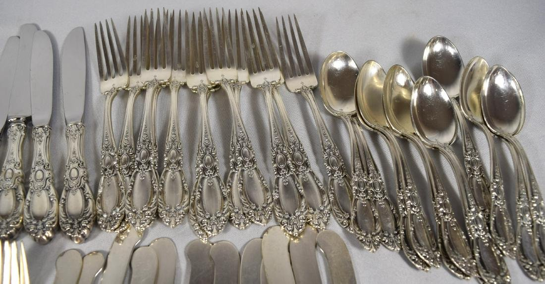 73 PIECES TOWLE STERLING SILVER FLATWARE SERVICE FOR 12 - 2