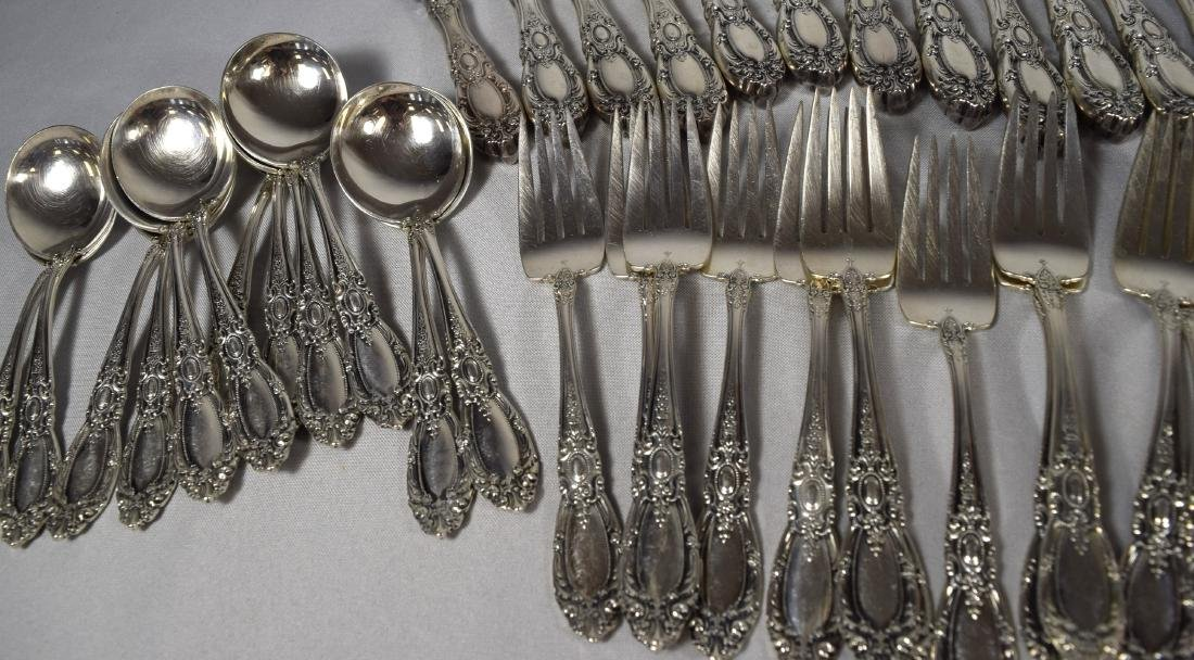 73 PIECES TOWLE STERLING SILVER FLATWARE SERVICE FOR 12 - 3