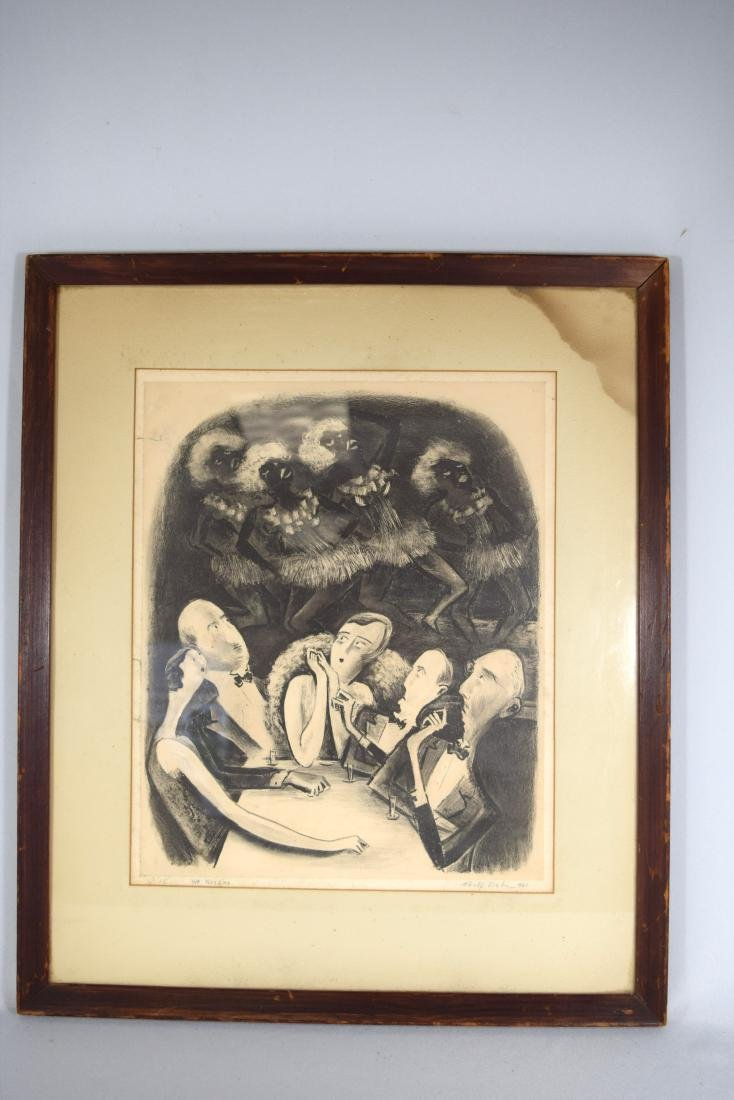 ADOLPH DEHN LITHOGRAPH WE NORDICS: