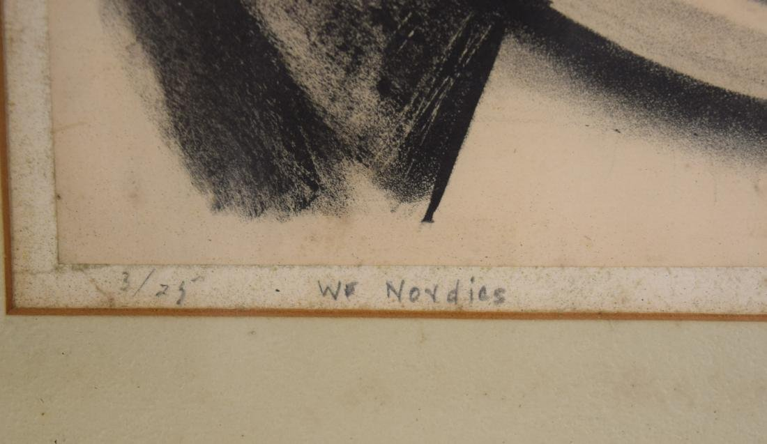 ADOLPH DEHN LITHOGRAPH WE NORDICS: - 3