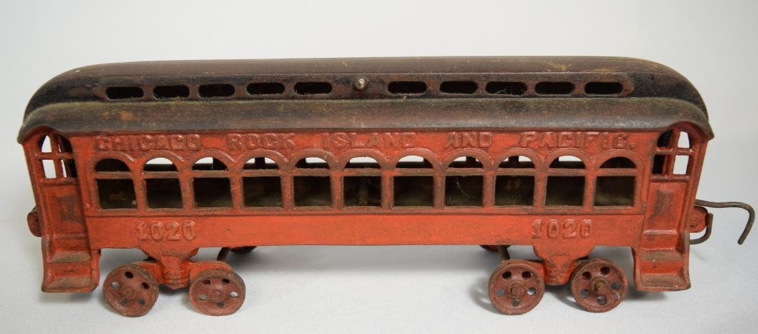 WILKINS CAST IRON FLOOR TRAIN: - 5