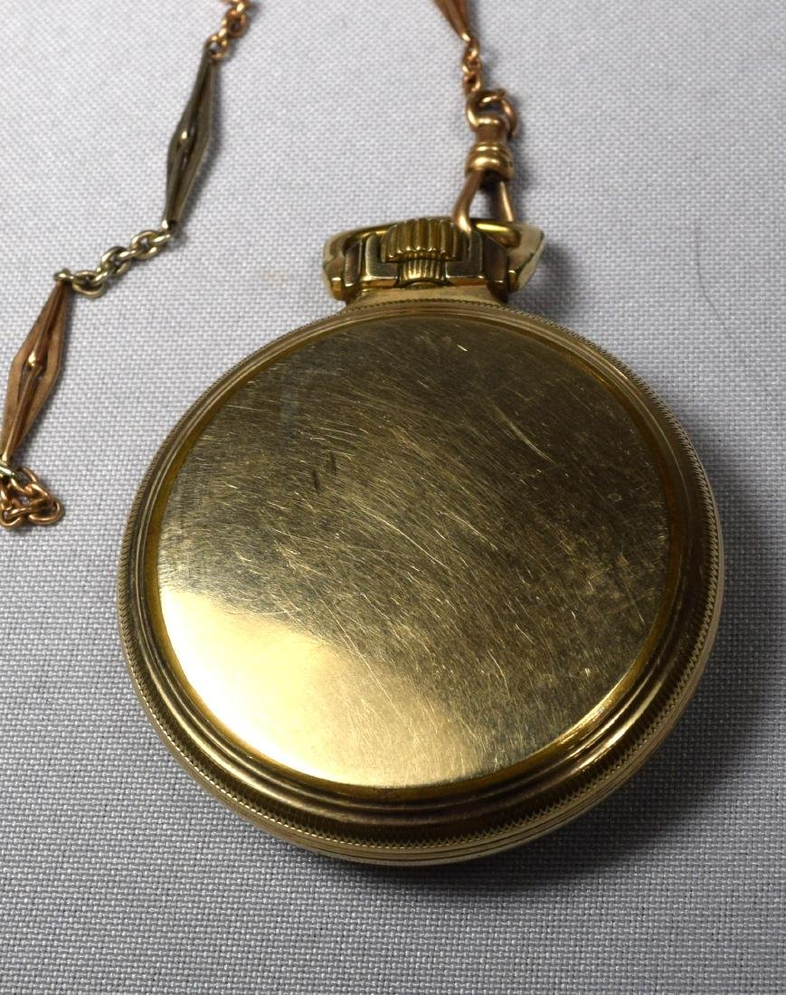HAMILTON POCKET WATCH: - 2