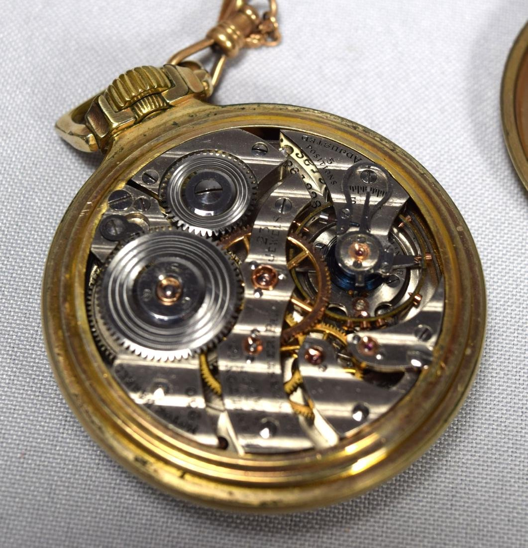 HAMILTON POCKET WATCH: - 3
