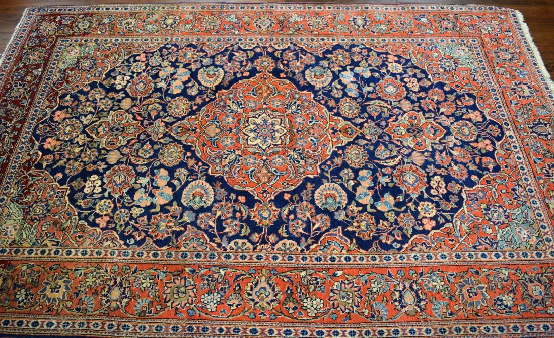 PERSIAN ORIENTAL SCATTER RUG: