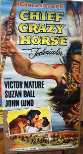 1955 UNITED ARTISTS RELEASE MOVIE POSTER CHIEF CRAZY