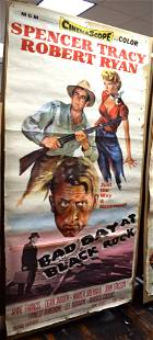 1955 MGM RELEASE MOVIE POSTER BAD DAY AT BLACK ROCK