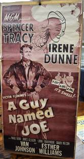 1943 MGM RELEASE MOVIE POSTER A GUY NAMED JOE