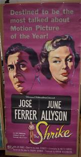 1955 UNIVERSAL INTERNATIONAL RELEASE MOVIE POSTER THE