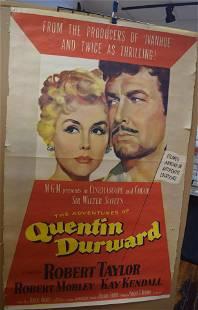 1955 MGM RELEASE MOVIE POSTER QUENTIN DURWARD