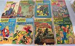 44 CLASSICS ILLUSTRATED COMIC BOOKS