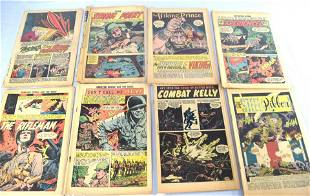 27 ASSEMBLED COMIC BOOKS WITHOUT COVERS