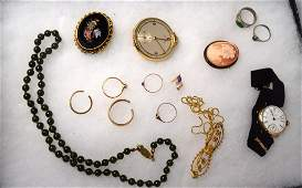 MISC. JEWELRY GROUPING