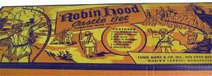 MARX ROBIN HOOD'S CASTLE PLAYSET #4718 TOY