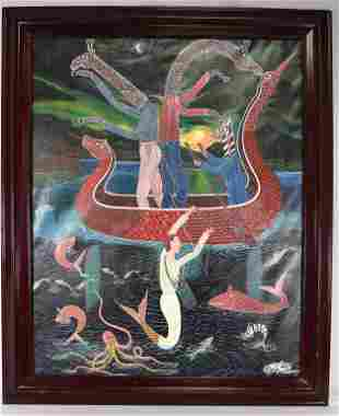 FRANTZ ZEPHIRIN HAITIAN 20TH CENTURY