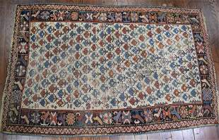 EARLY SHIRVAN SCATTER RUG: