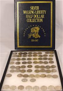 92 US SILVER HALF DOLLARS & 8 KEY DATE KENNEDYS