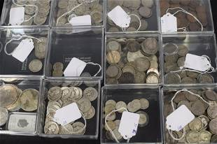 US SILVER, US BULLION, BRITISH COINS & MISC COINS