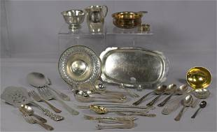 ASSORTED STERLING SILVER ITEMS