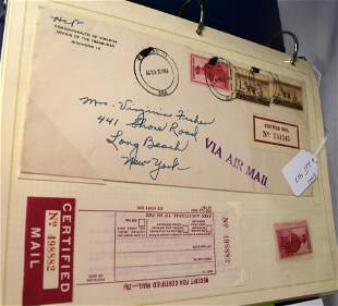 FIRST DAY & AIR MAIL COVERS & STAMPS